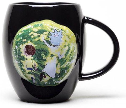 Чаша GB еye Rick & Morty - Portal Oval, 450 ml - 2