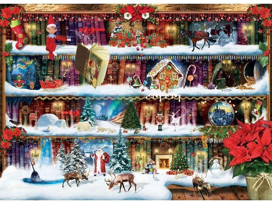 Пъзел Eurographics от 300 XL части - Коледни приказки, Пол Норман - 2