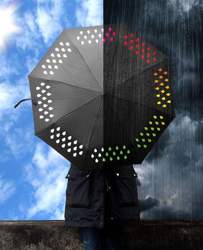 Чадър с променящи се цветове - 19