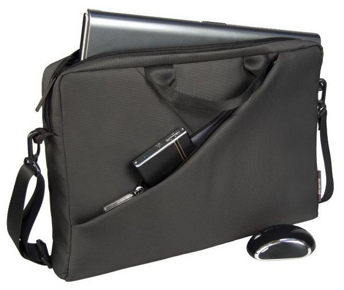 """Чанта за лаптоп Rivacase 8730 15.6"""" - сива - 5"""