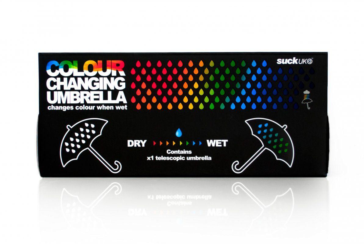 Чадър с променящи се цветове - 2