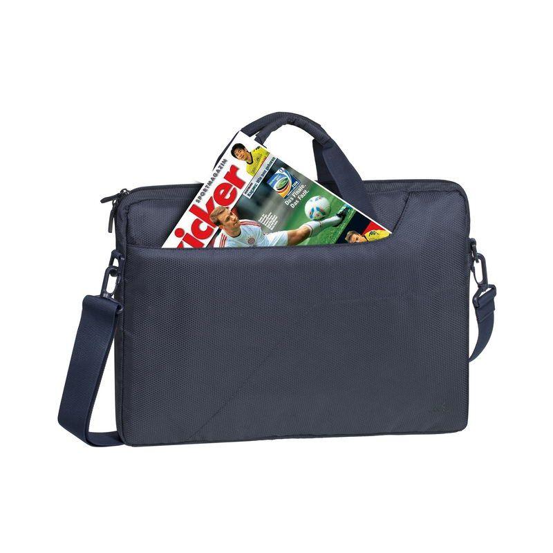 "Чанта за лаптоп Rivacase 8735 15.6"" - тъмносиня - 2"