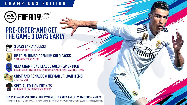 FIFA 19 Champions Edition (PS4) + подарък албум Panini 365 - 2019 - 8