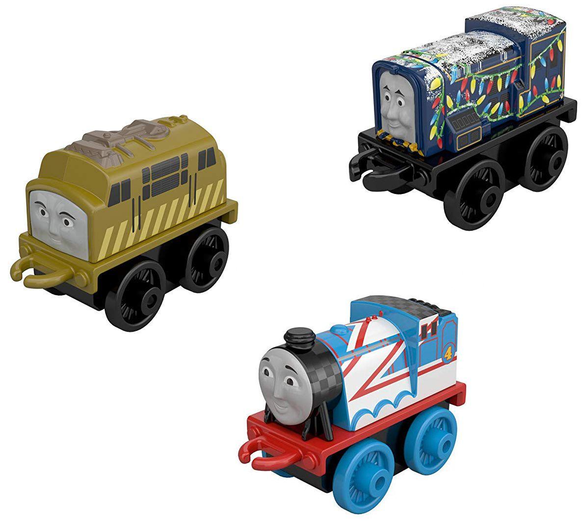 Комплект Fisher Price Thomas & Friends - Мини локомотиви, 3 броя, асортимент - 3