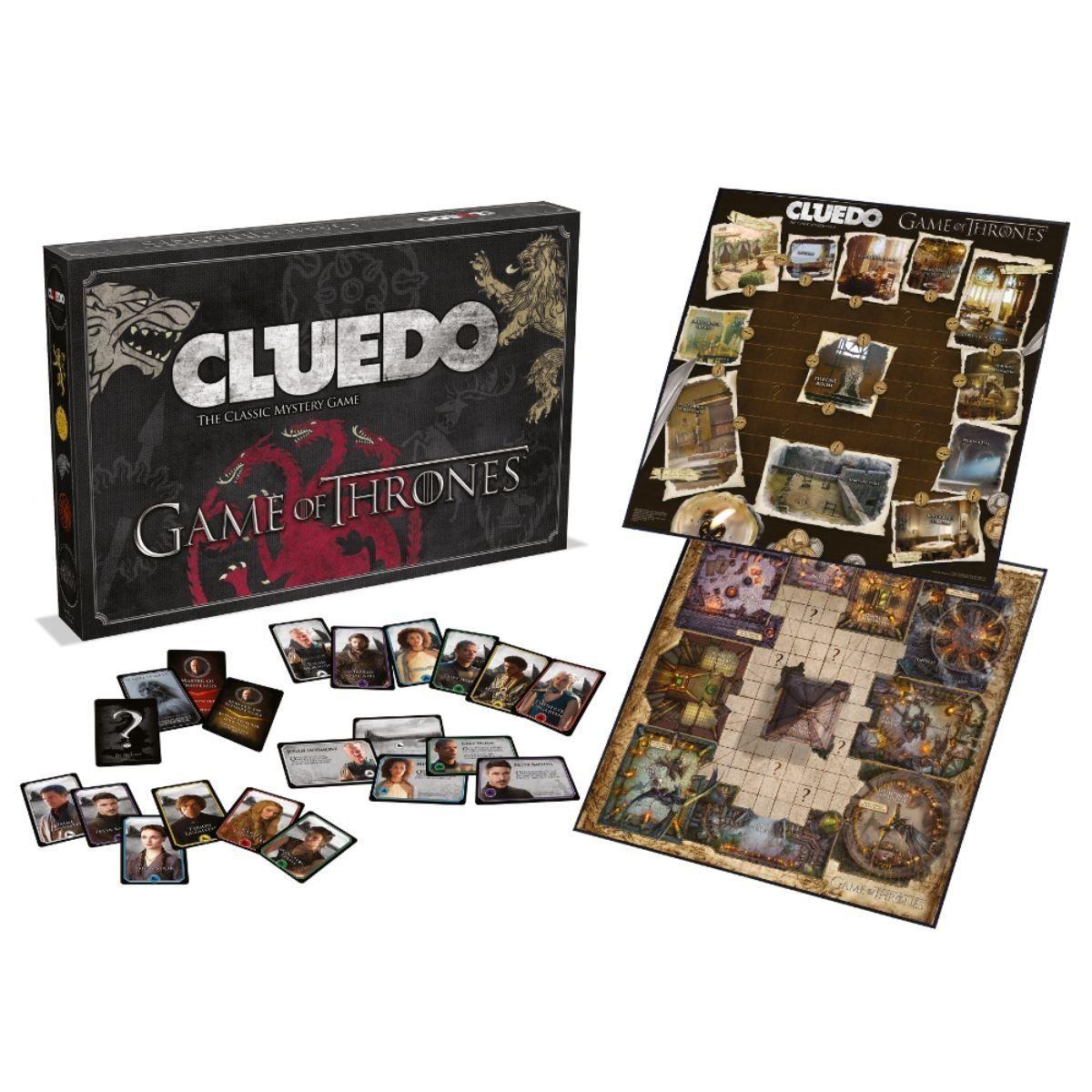 Настолна игра Cluedo - Game of Thrones, стратегическа - 4
