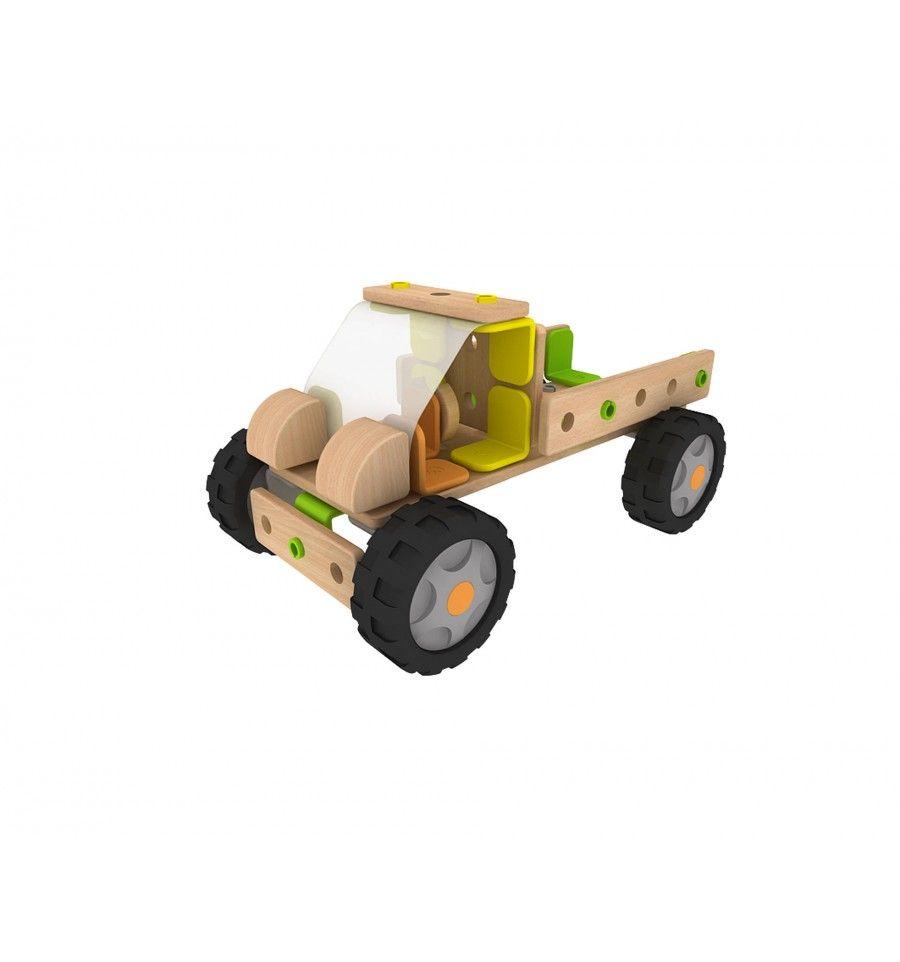 Класически дървен конструктор от 500 части Classic World - 4