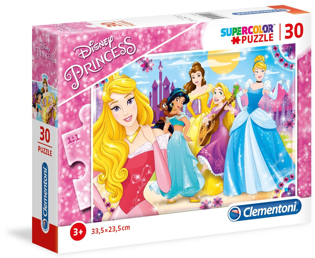 Пъзел Clementoni от 30 части - Принцеси - 1