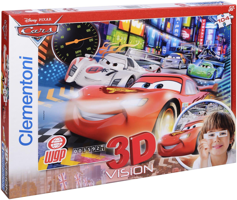 Пъзел Clementoni от 104 части с 3D ефект - Колите - 1