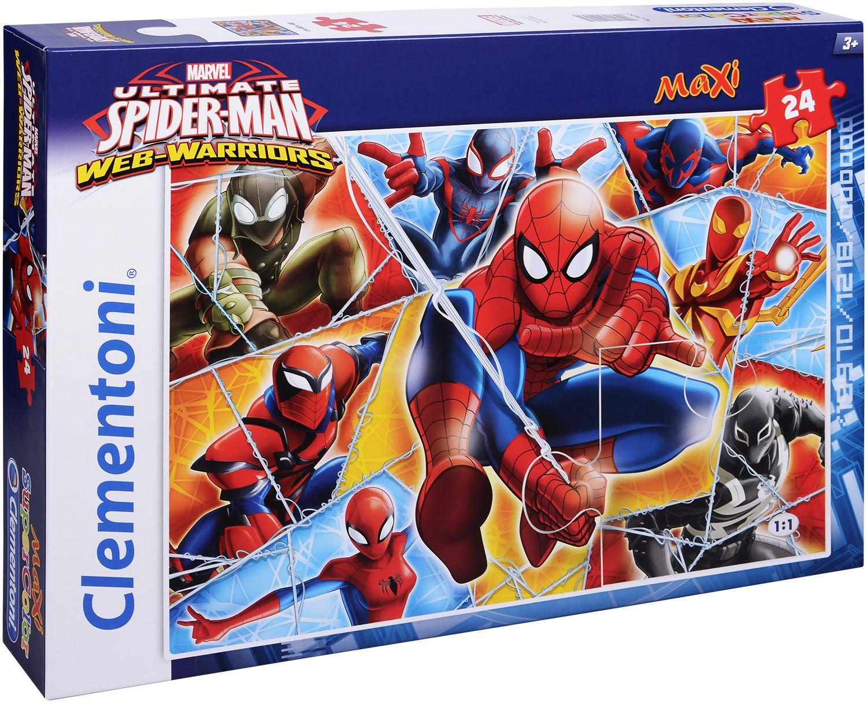 Пъзел Clementoni от 24 макси части - Спайдърмен - 1