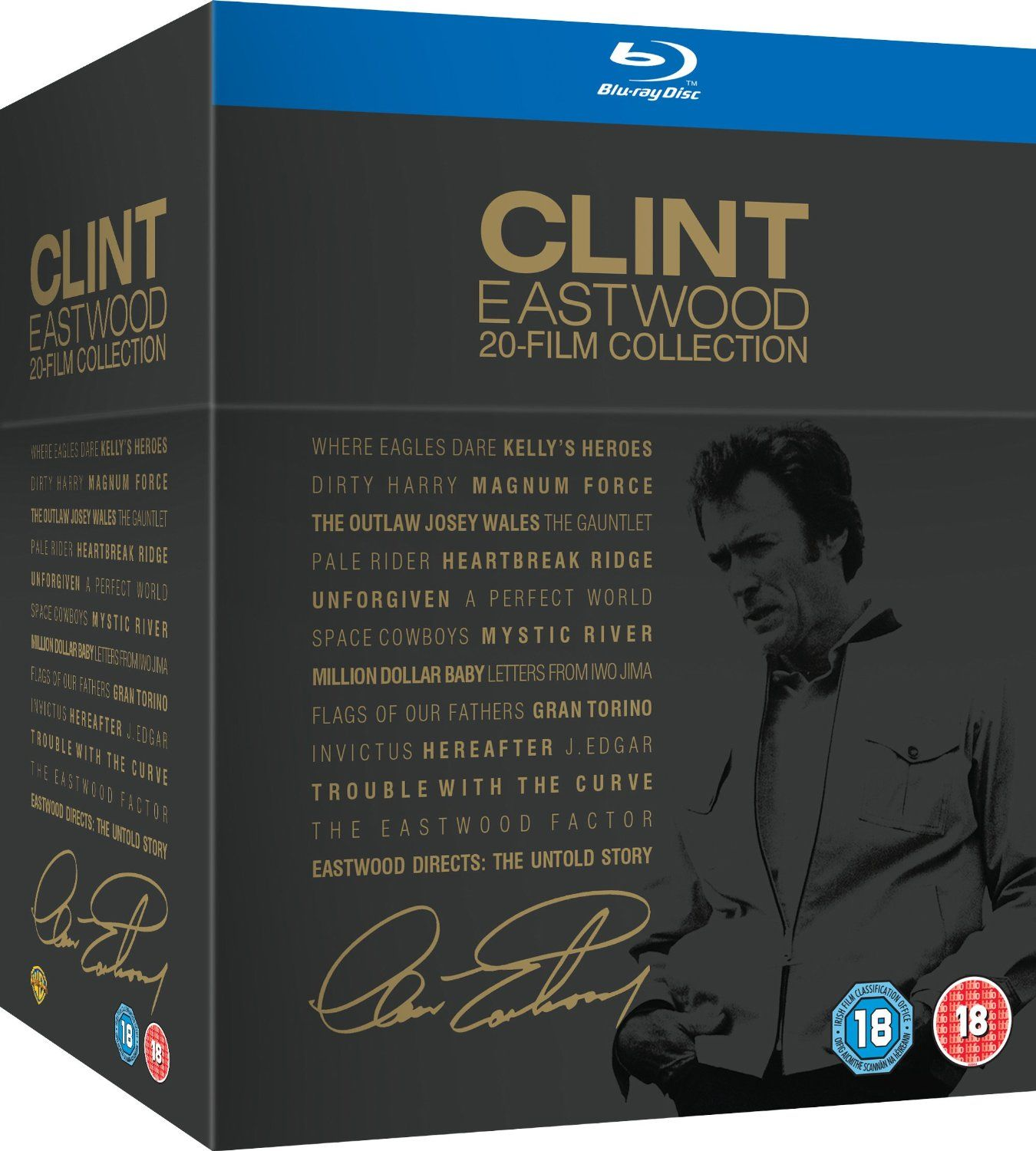 Clint Eastwood 20-Film Collection (Blu-Ray) - 1