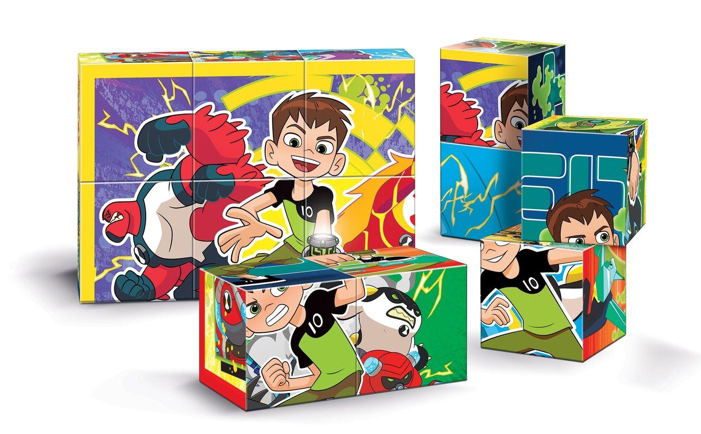Пъзелни кубчета Clementoni от 12 части - Бен 10 - 2