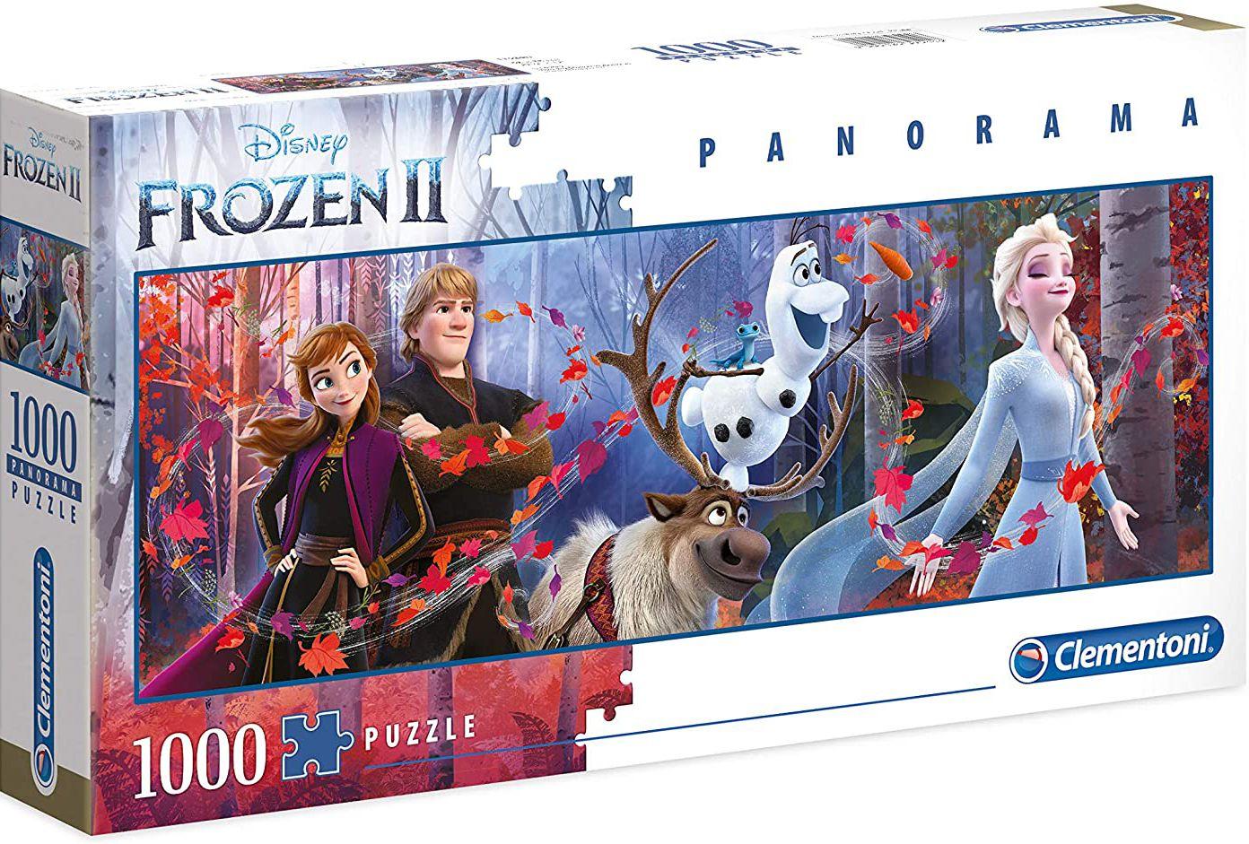 Панорамен пъзел Clementoni от 1000 части - Замръзналото кралство 2 - 1