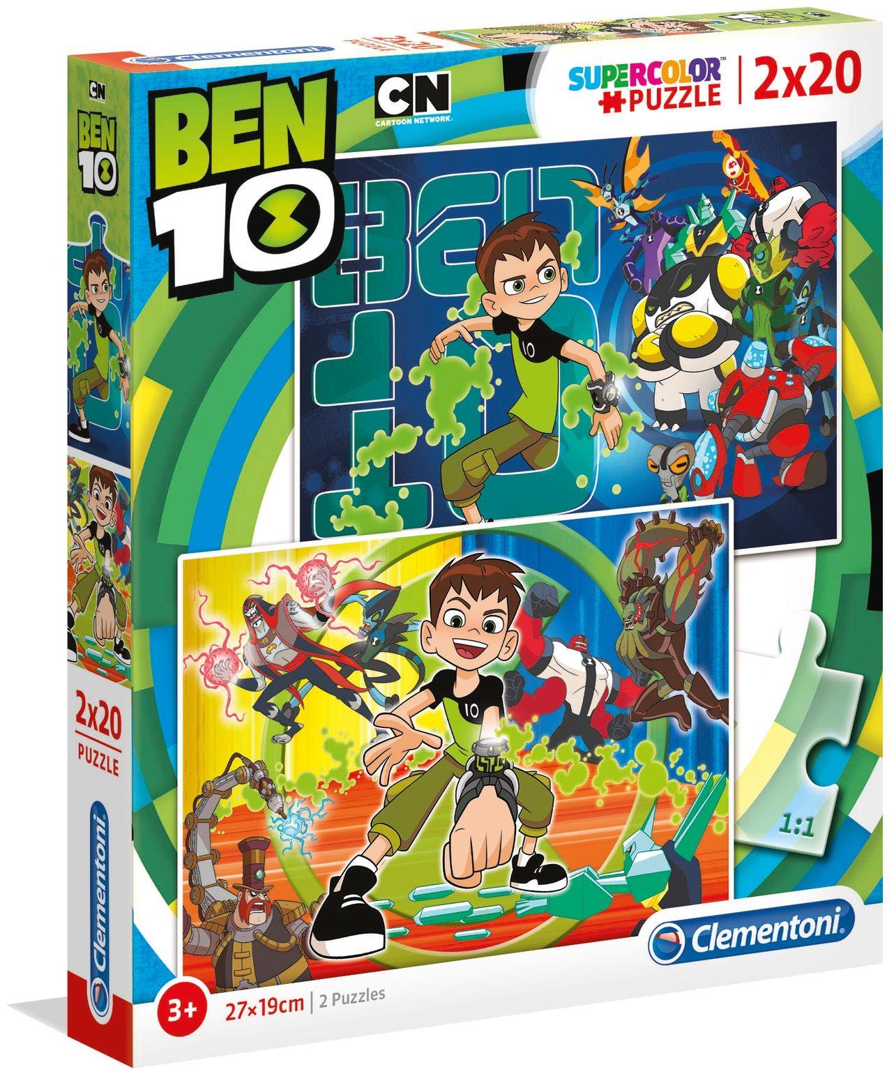 Пъзел Clementoni от 2 x 20 части - Бен 10 - 1