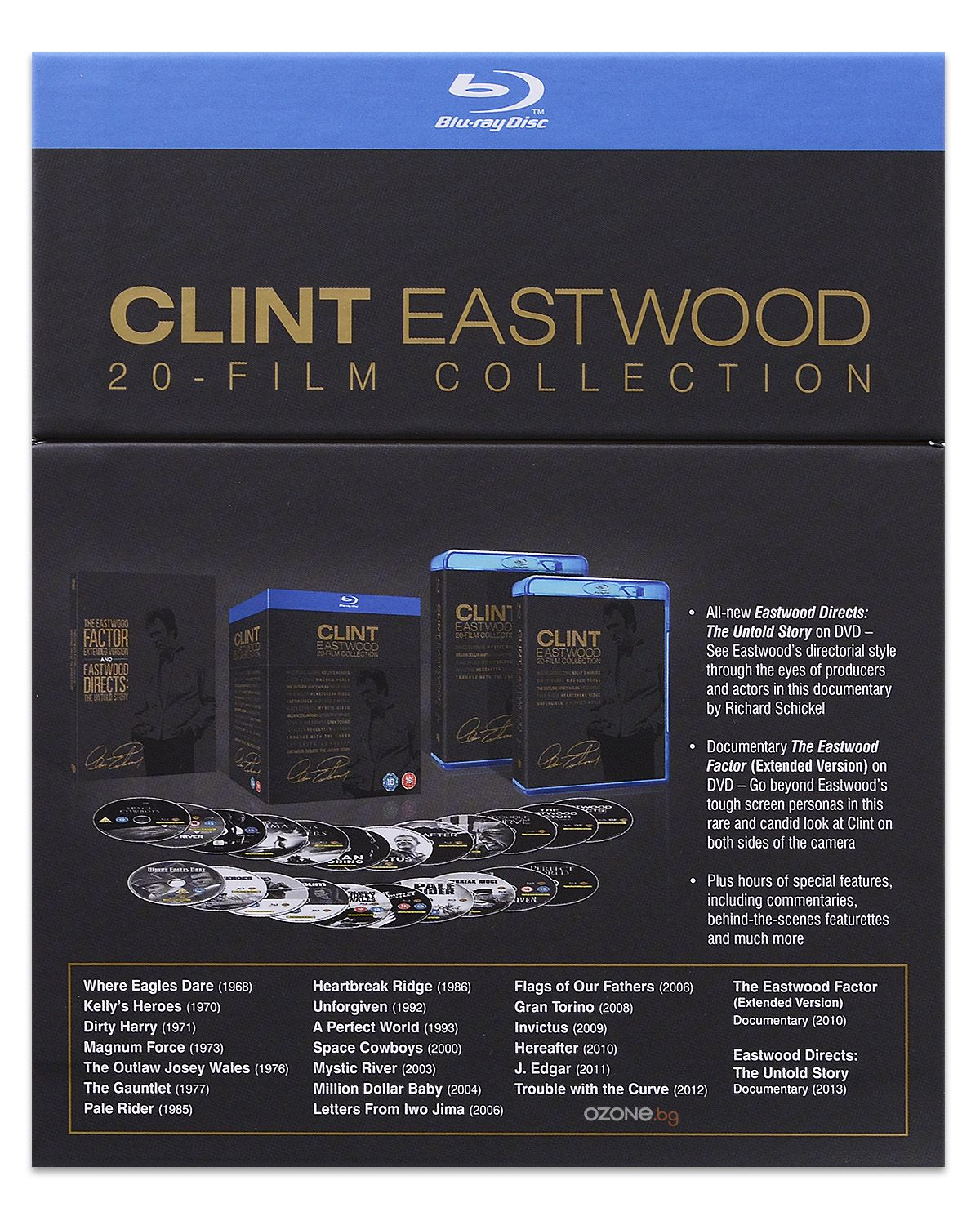 Clint Eastwood 20-Film Collection (Blu-Ray) - 5