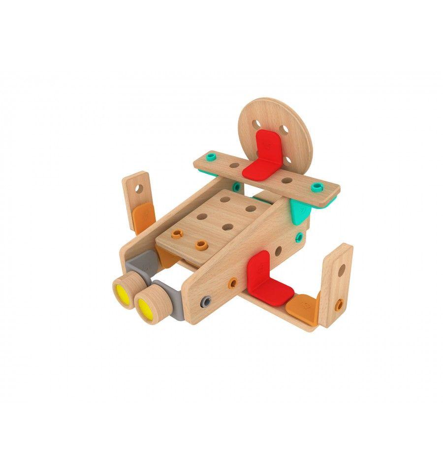 Класически дървен конструктор от 500 части Classic World - 3