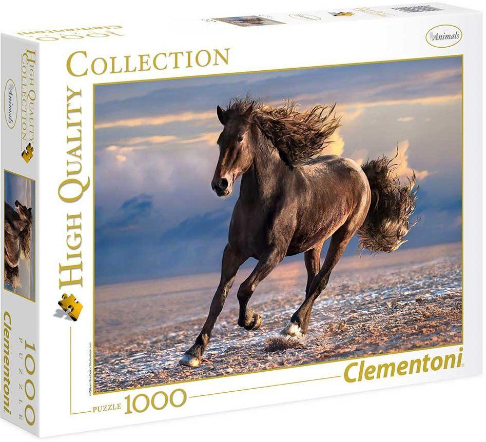 Пъзел Clementoni от 1000 части - Свободен кон - 1