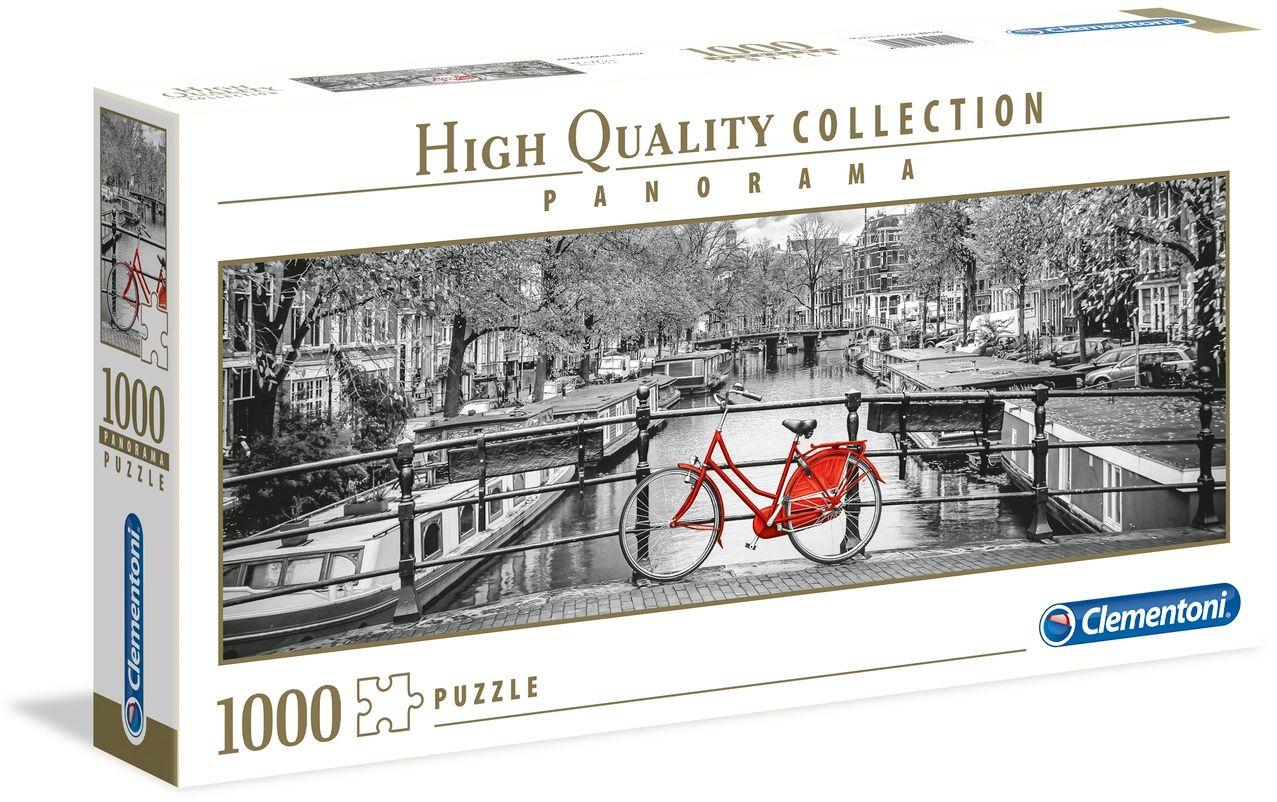 Пъзел Clementoni от 1000 части - Амстердамско колело - 1