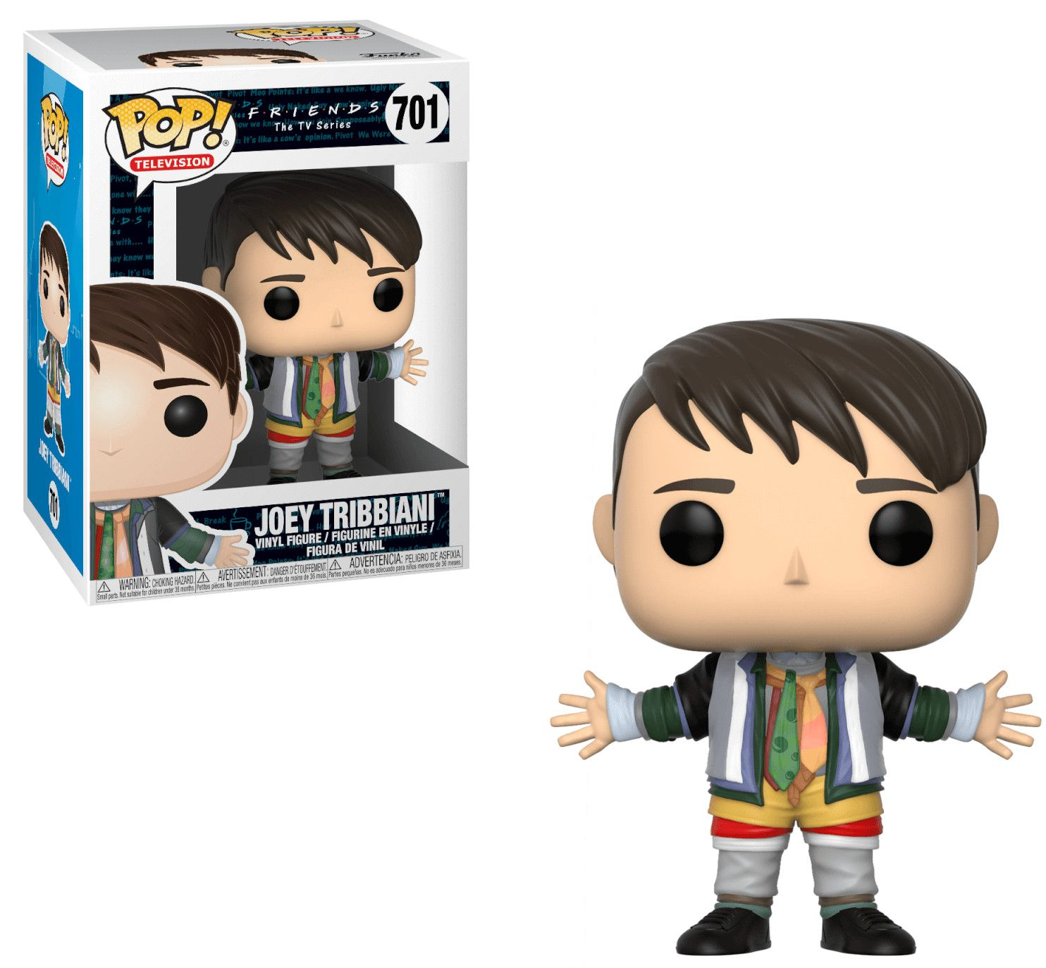Фигура Funko Pop! Television: Friends - Joey Tribbiani in Chandler's Clothes, #701  - 2
