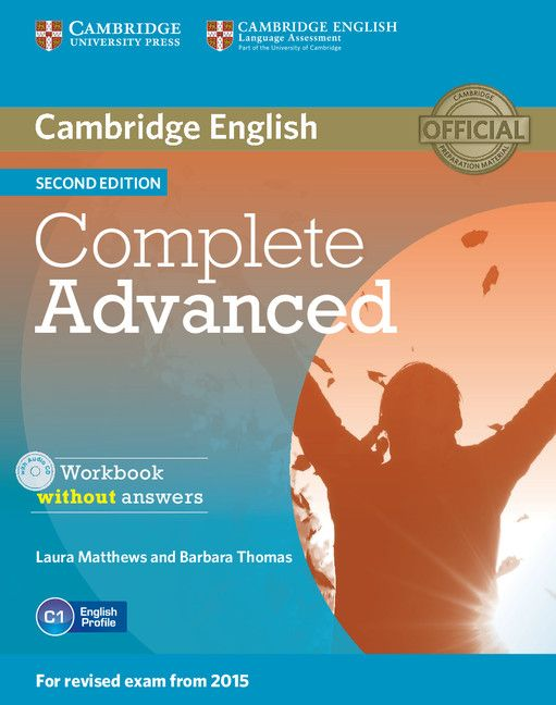 Complete Advanced Workbook without Answers with Audio CD - 1