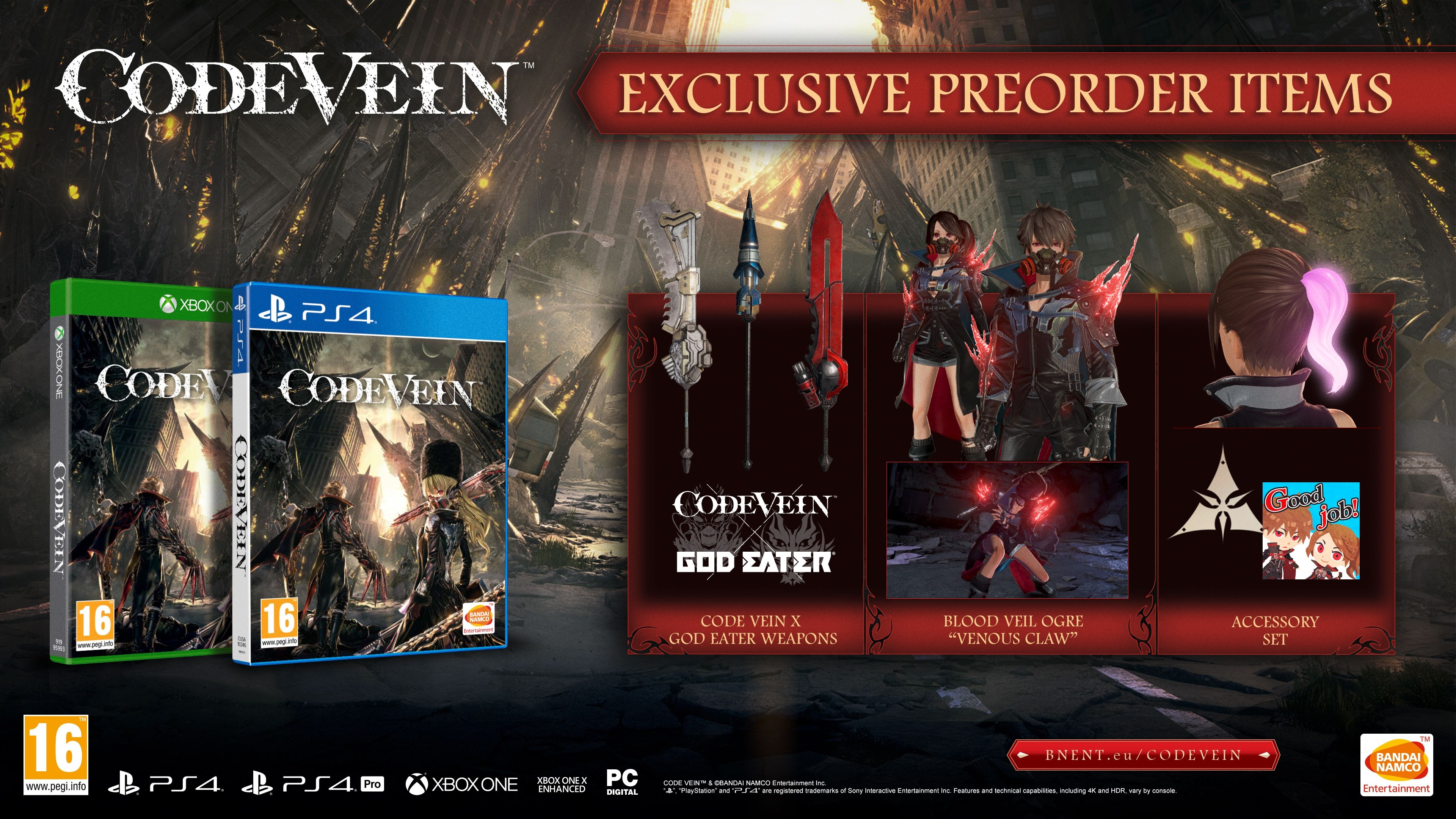 Code Vein Collector's Edition (Xbox One) - 12
