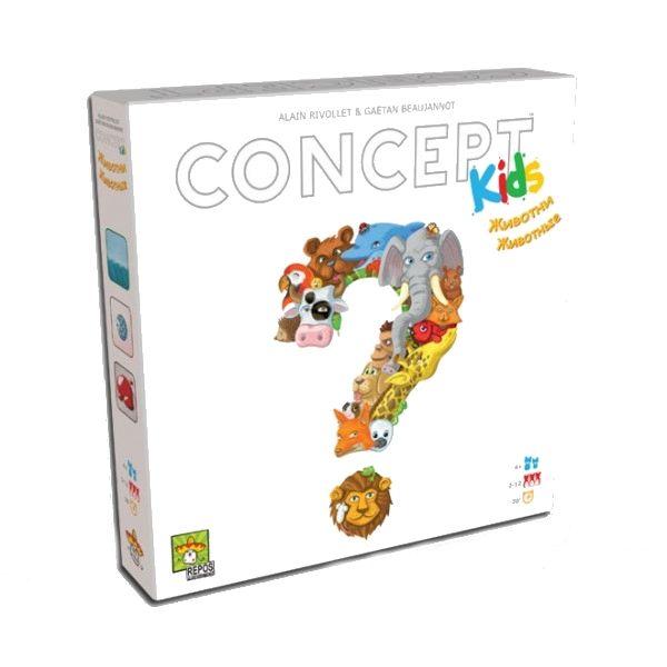 Детска игра Concept Kids - Животни - 1
