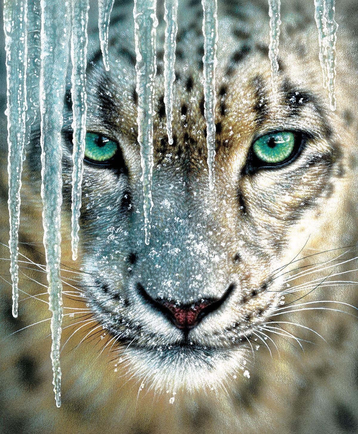 Пъзел SunsOut от 1000 части - Син лед, Колин Богъл - 1