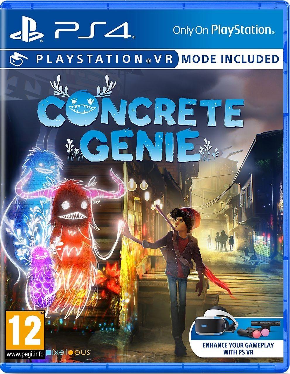Concrete Genie (PS4) - 1