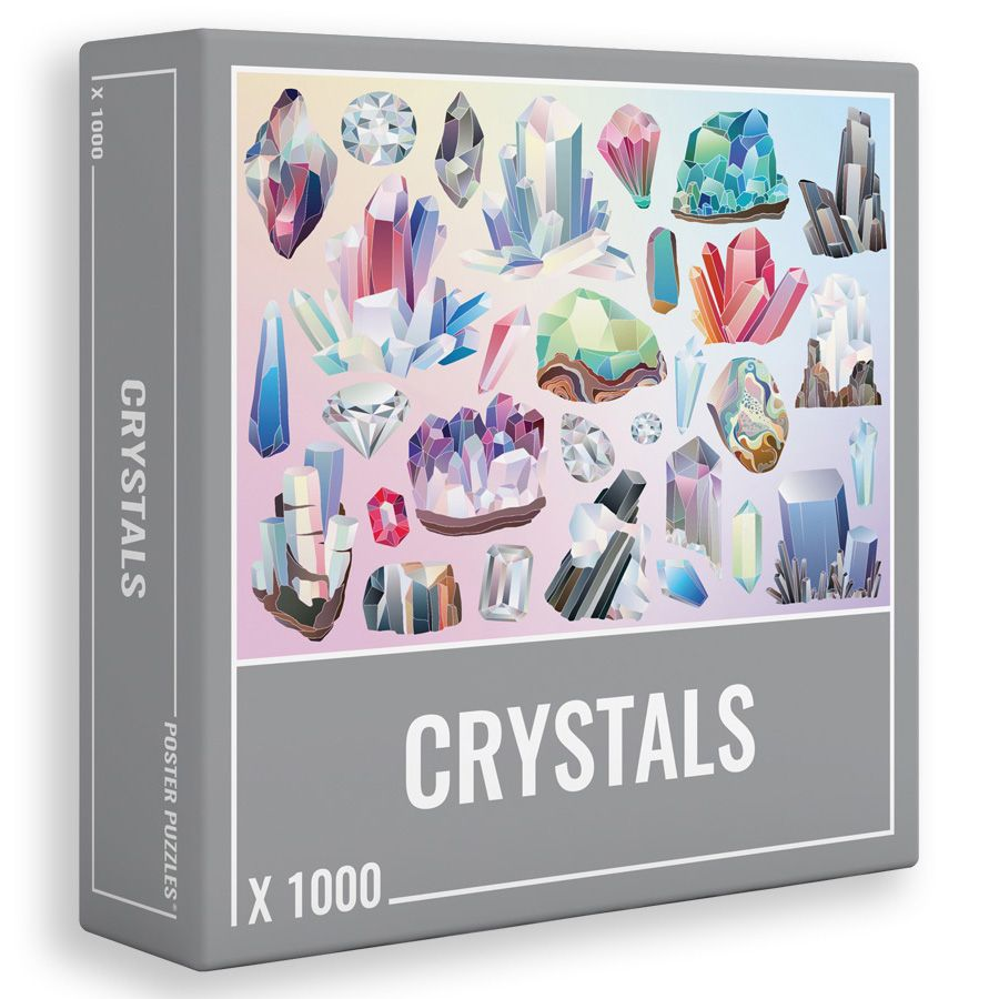 Пъзел Cloudberries от 1000 части - Crystals - 1