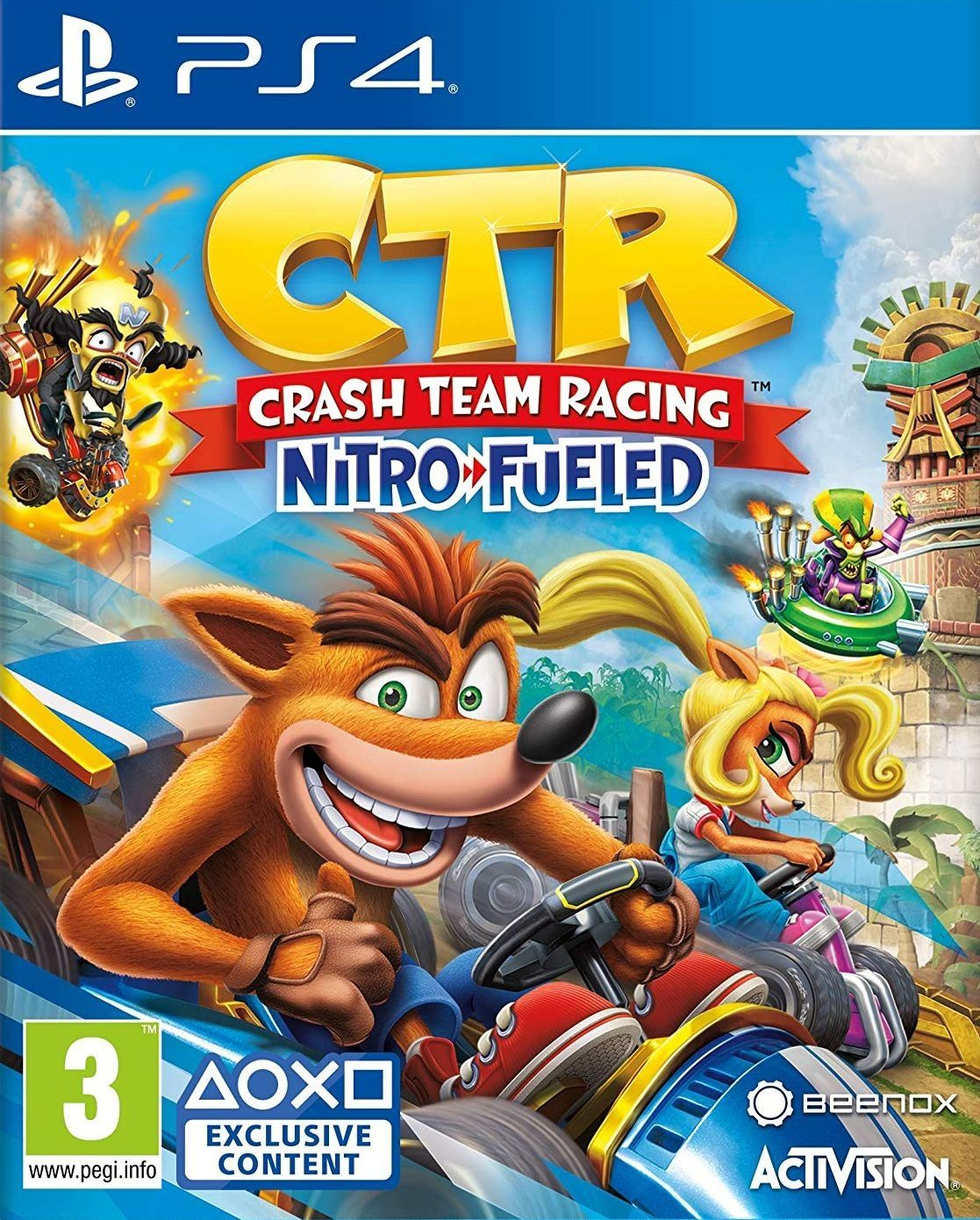 Crash Team Racing Nitro-Fueled (PS4) - 1