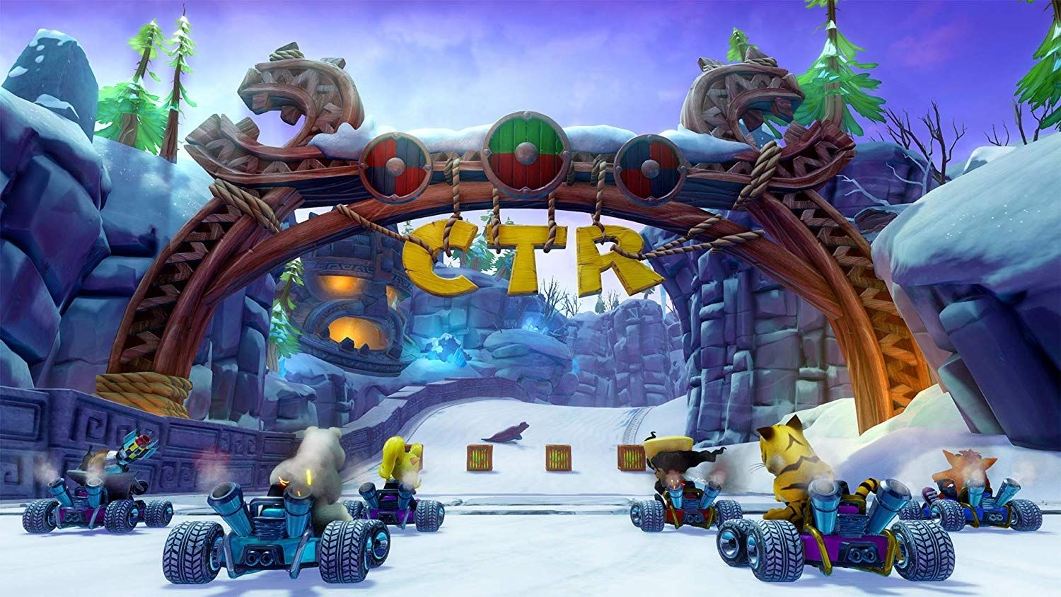 Crash Team Racing Nitro-Fueled (PS4) - 7