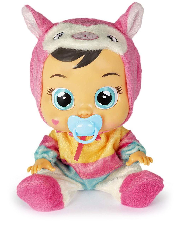 Плачеща кукла със сълзи IMC Toys Cry Babies - Лена, лама - 1