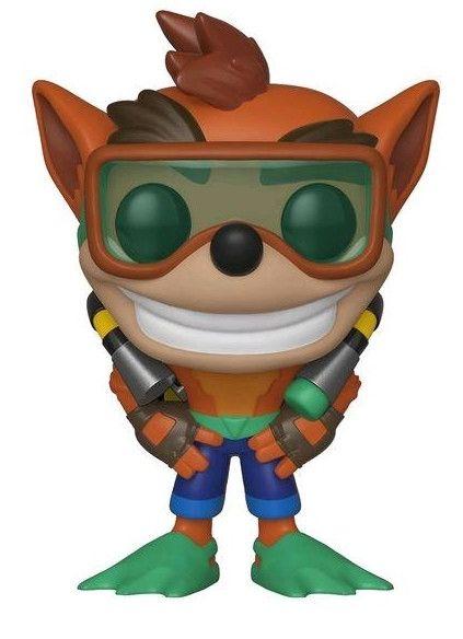 Фигура Funko Pop! Games: Crash Bandicoot - Crash With Scuba Gear , #421 - 1