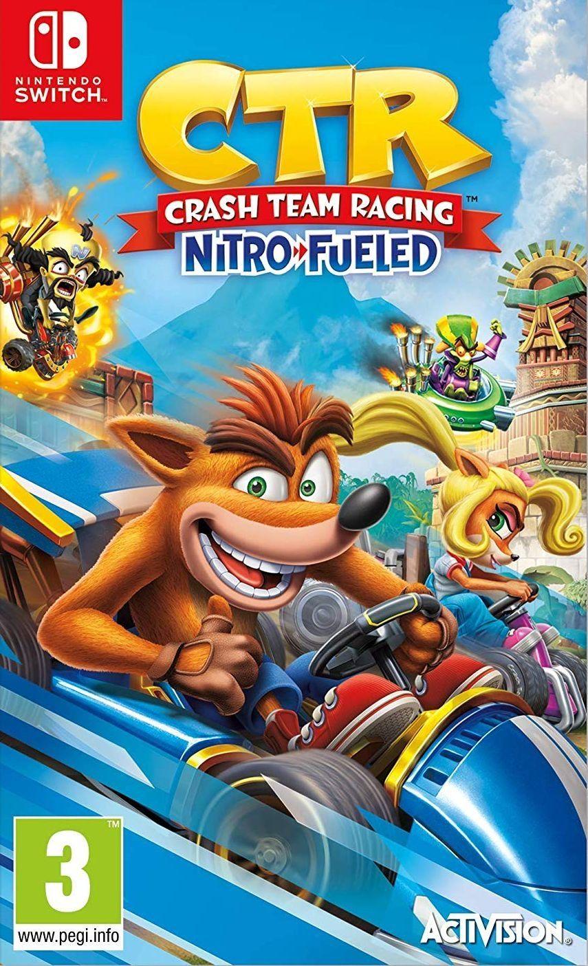 Crash Team Racing Nitro-Fueled (Nintendo Switch) - 1
