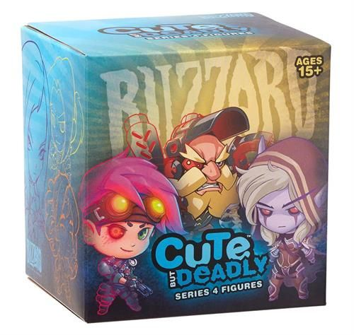 Фигура Blizzard: Overwatch Cute But Deadly Series 4 - blindbox - 1