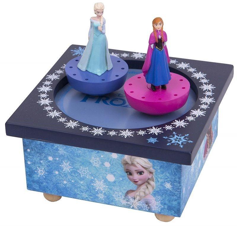 Дървена музикална кутия Trousselier - Анна и Елза от Замръзналото кралство - 1
