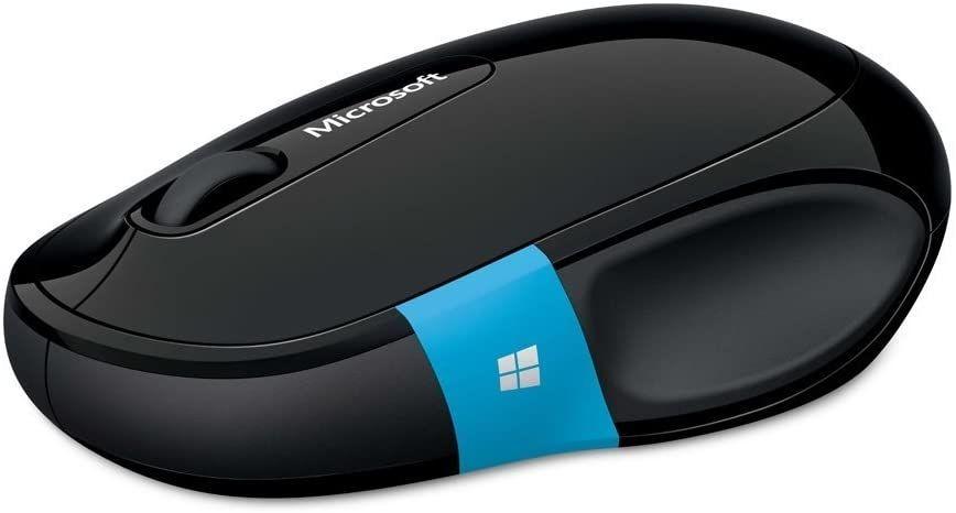 Мишка Microsoft - H3S-00001, безжична, черна - 3