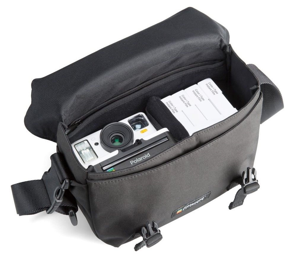 Чанта Polaroid Originals Day - черна - 3