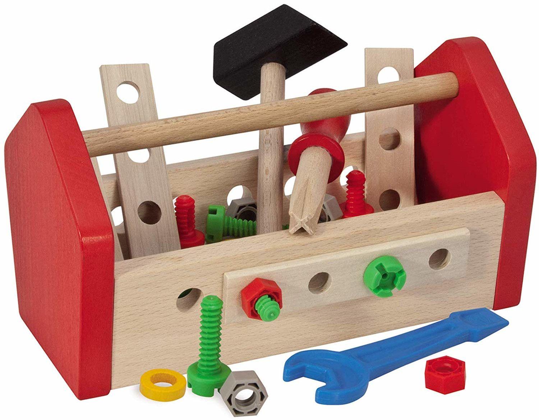 Дървен комплект Eichhorn - Кутия с инструменти - 1