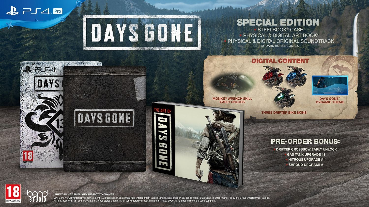 Days Gone Special Edition (PS4) - 5