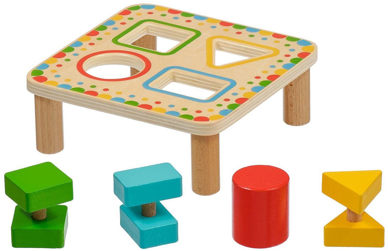 Дървена играчка Lucy&Leo - Сортер за форми - 1