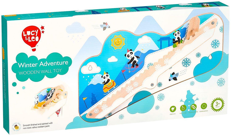 Интерактивна играчка за стена Lucy&Leo - Зимно приключение - 8