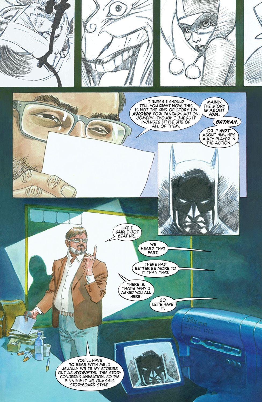 Dark Night: A True Batman Story (комикс) - 3