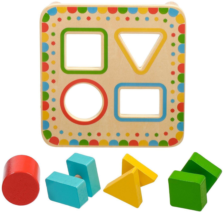 Дървена играчка Lucy&Leo - Сортер за форми - 2