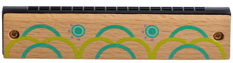 Детски музикален инструмент Lucy&Leo - Дървена хармоника - 1