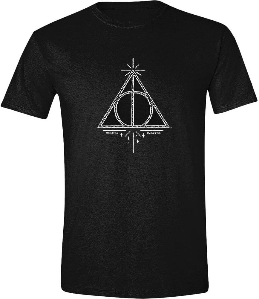 Тениска Timecity Harry Potter - Deathly Hallows Symbol  - 1