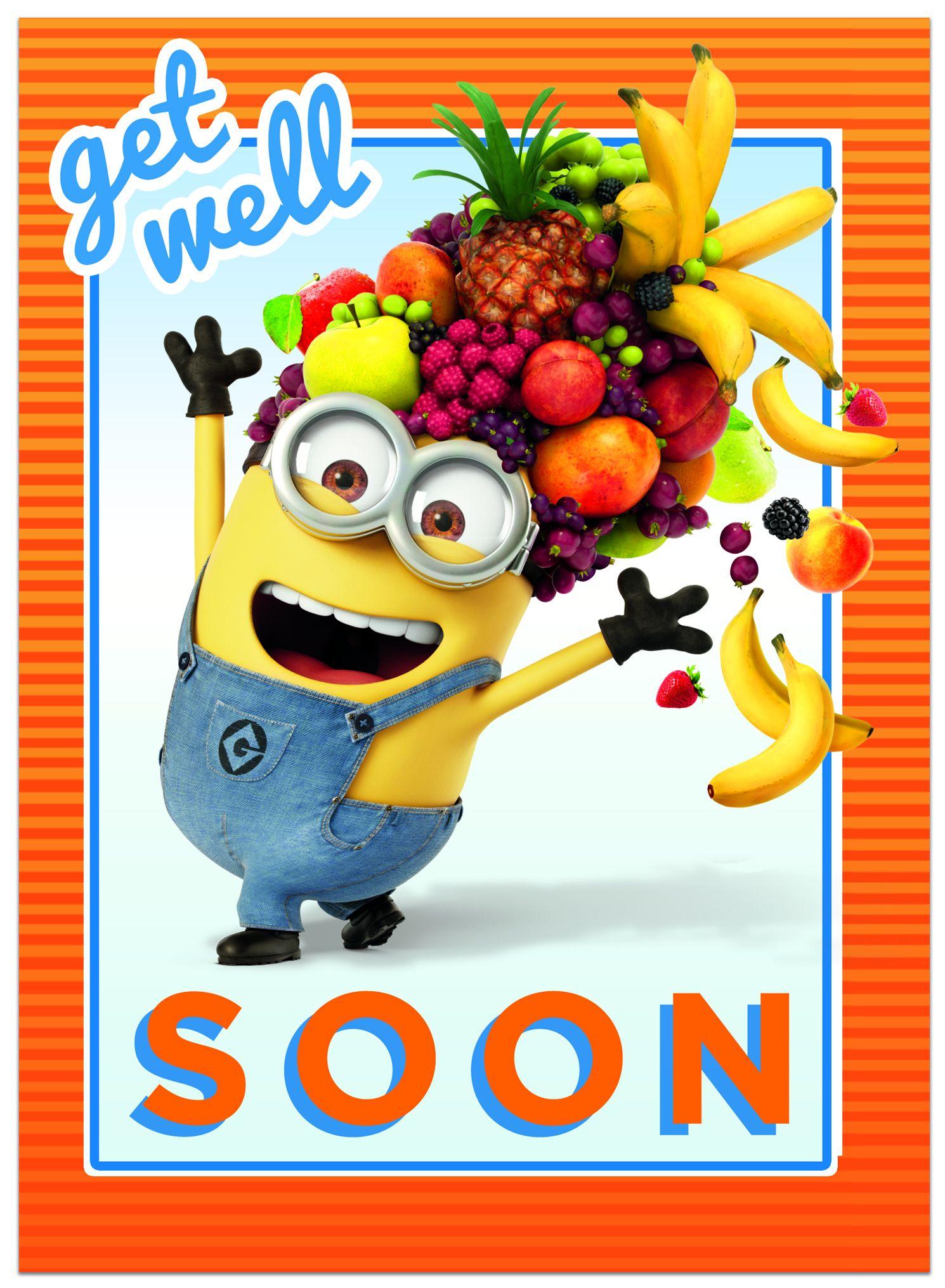 Поздравителна картичка Danilo - Despicable Me: Minion Get Well - 1