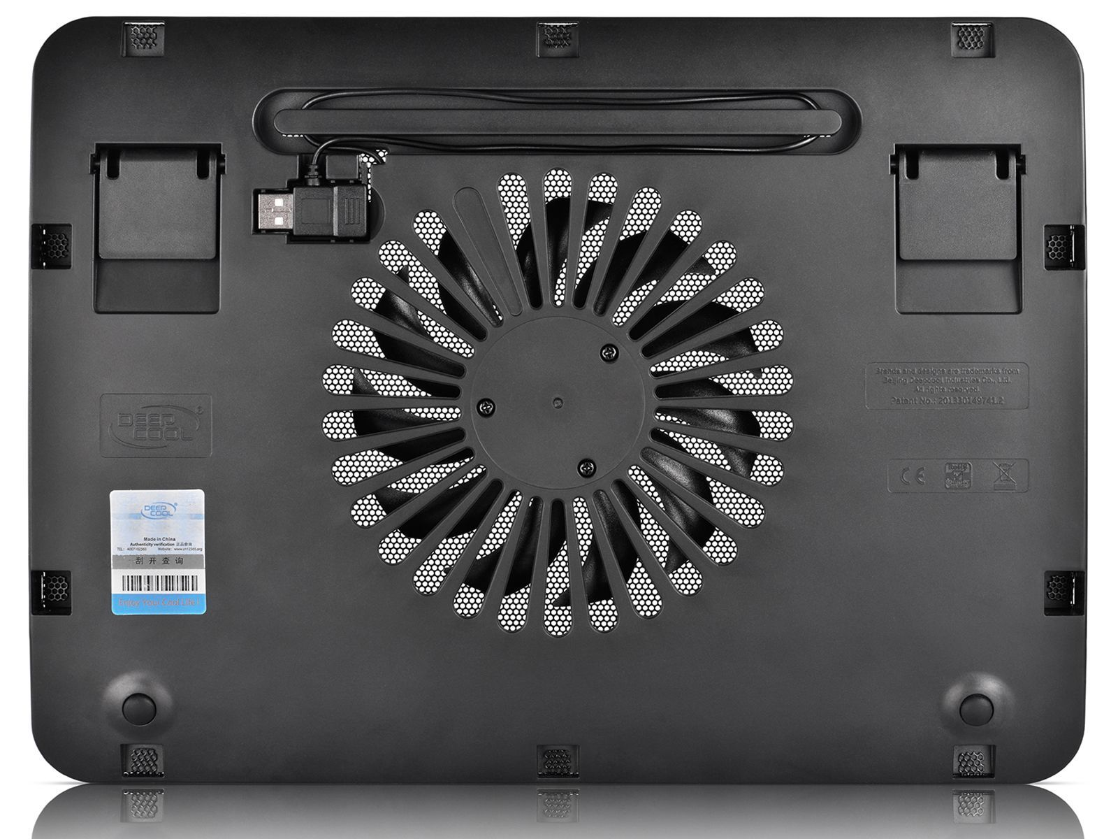 DeepCool WIND PAL Mini 15.6 - черна - 2