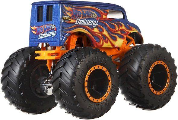 Детска играчка Hot Wheels Monster Trucks - Голямо бъги, Delivery - 3
