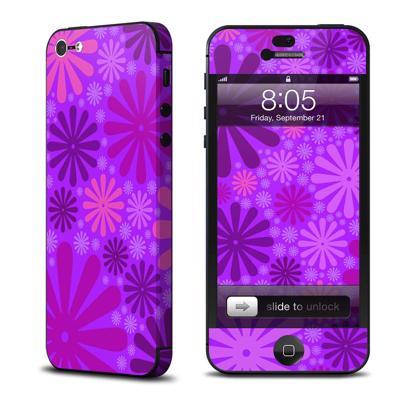 Калъф Decalgirl Purple Punch за iPhone 5 - 1