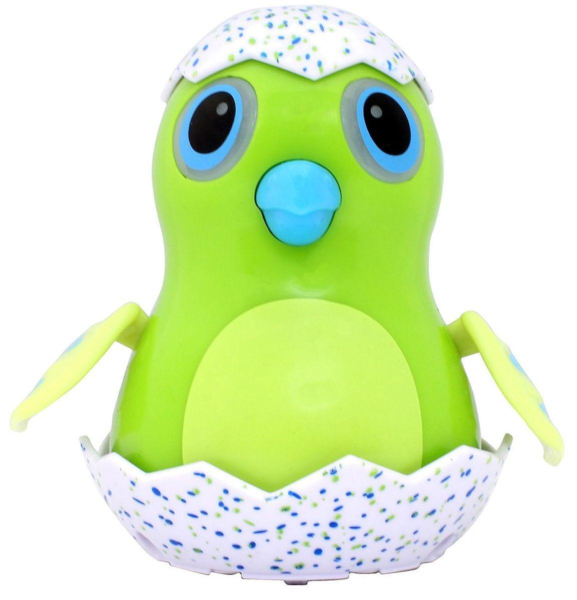 Детска играчка Spin Master Hatchimals - Зелено пиле, със звук и светлина - 1